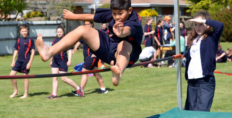 Year 4-8 Athletics Day