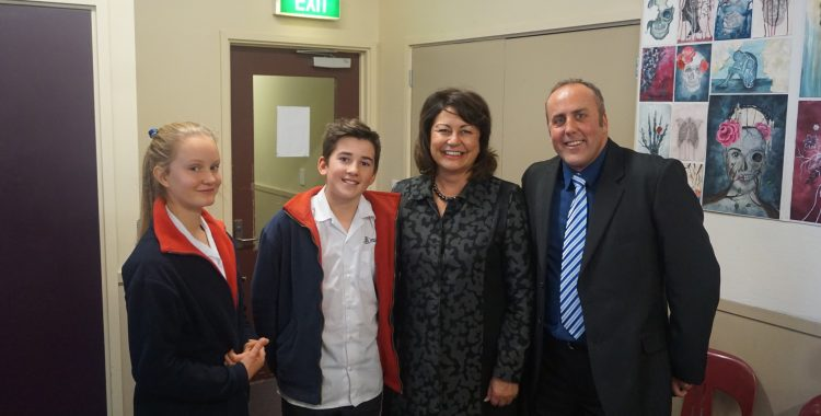 Meeting The Minister For Education